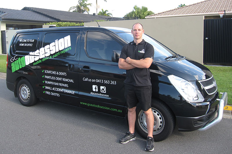 About austin chambers owner operator gc auto obsession for Mobile auto painting